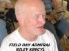 Jim Riley, KC9CYL, Field Day chairman barking orders.