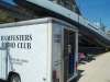 Club trailer was present to show off