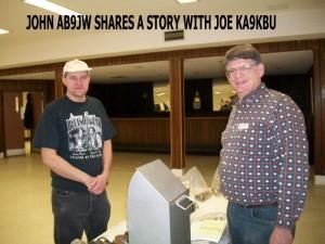 John and joe visit